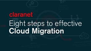 Claranet | Eight steps to effective Cloud Migration