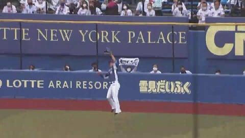 【6回裏】ライオンズ・愛斗 難しい打球を好捕!! 2021/5/15 M-L