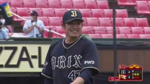 【ファーム】バファローズ・海田 満塁の場面からの登板で冷静な投球を見せる!! 2021/5/16 E-B(ファーム交流戦)