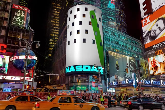 Dexcom NASDAQ Tower Billboard 3D