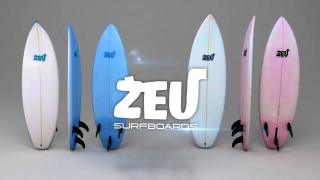 ZEU Surfboards Graphic
