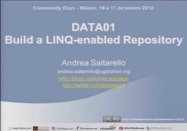 Build a LINQ-enabled Repository