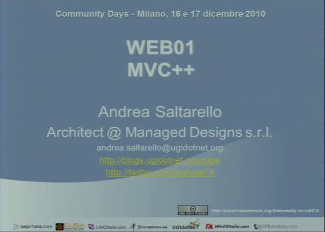 ASP.NET MVC++