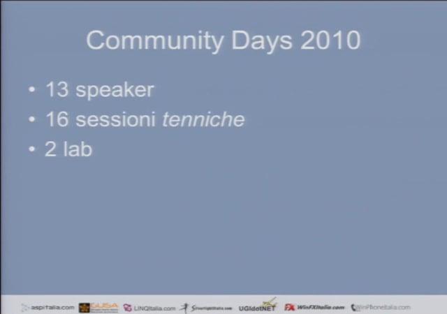Keynote Community Days 2010