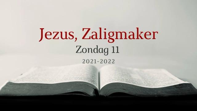 Preek Catechismus Zondag 11    Ds. J. IJsselstein