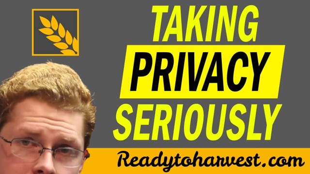 Taking Privacy Seriously