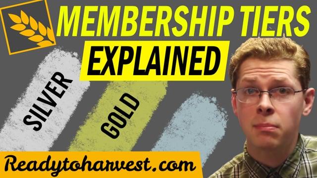 Membership Tiers Explained