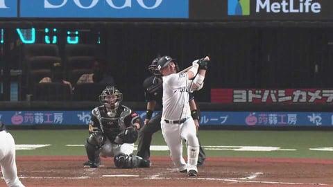 【9回裏】ライオンズ・岡田 レフトスタンドへソロホームランを放つ!! 2021/5/18 L-H