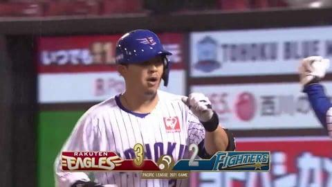 【8回裏】イーグルス・浅村 今季第3号ソロホームランで勝ち越し!! 2021/5/18 E-F