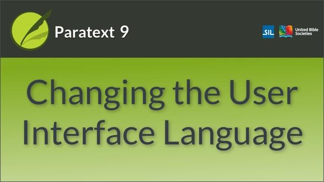 Change user Interface language v9.0 (0.2.1a)