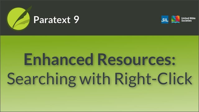Enhanced Resources - Searching with Right-Click (9.0 0.5.4a)