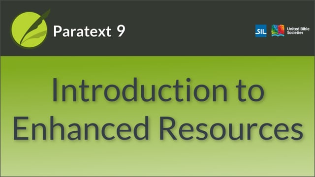 Introduction to Enhanced Resources (9.0 0.5)