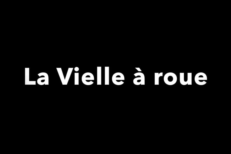 Présentation Vielle à Roue – Sylvain
