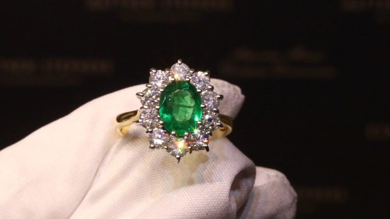 May Birthstone - Emerald Rings