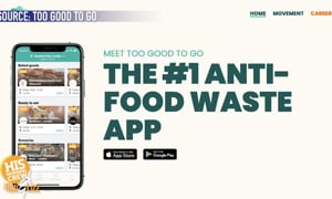 There is so much wasted food around the world, but this app could help change that!