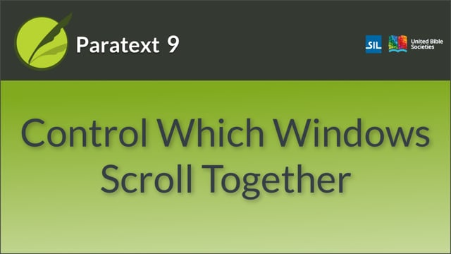 Scroll groups (9.0 0.2.3a)