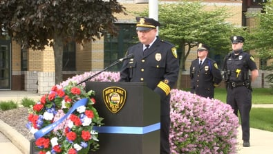 Thumbnail of video 2021 Police Memorial Day Service