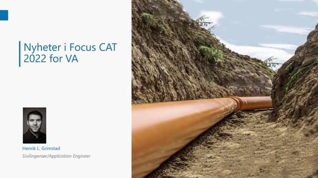Lanseringsseminar 2021 VA: Nyheter i Focus CAT og Focus CAT VA