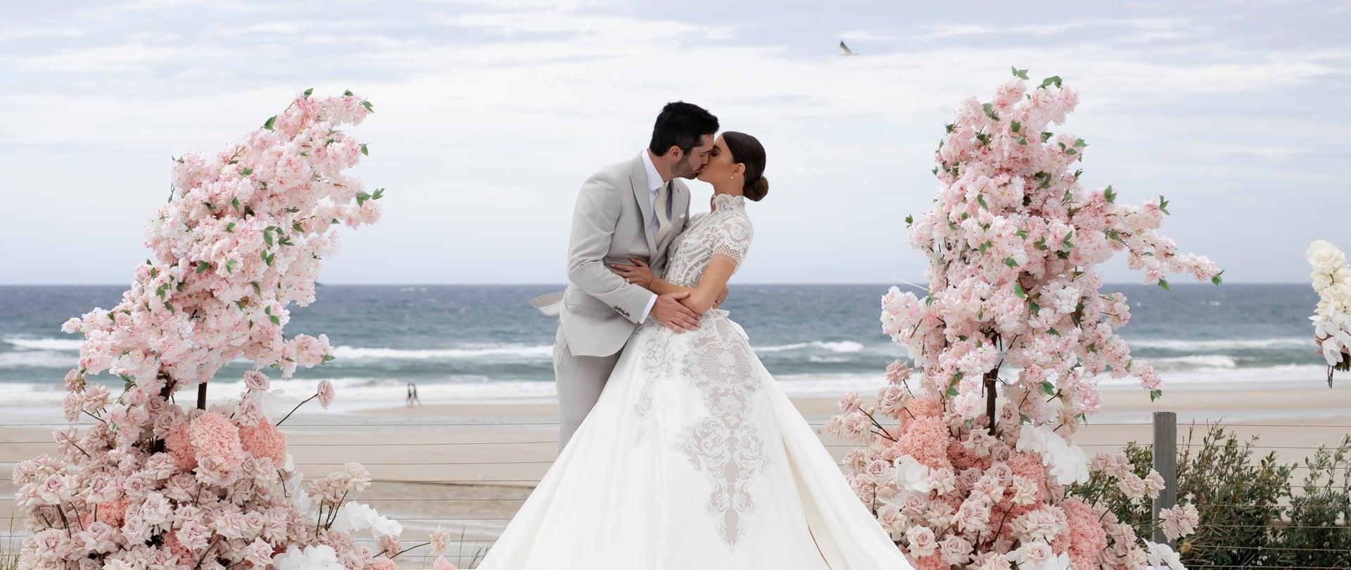 Erin & Ben Wedding Video Filmed at Byron Bay, New South Wales