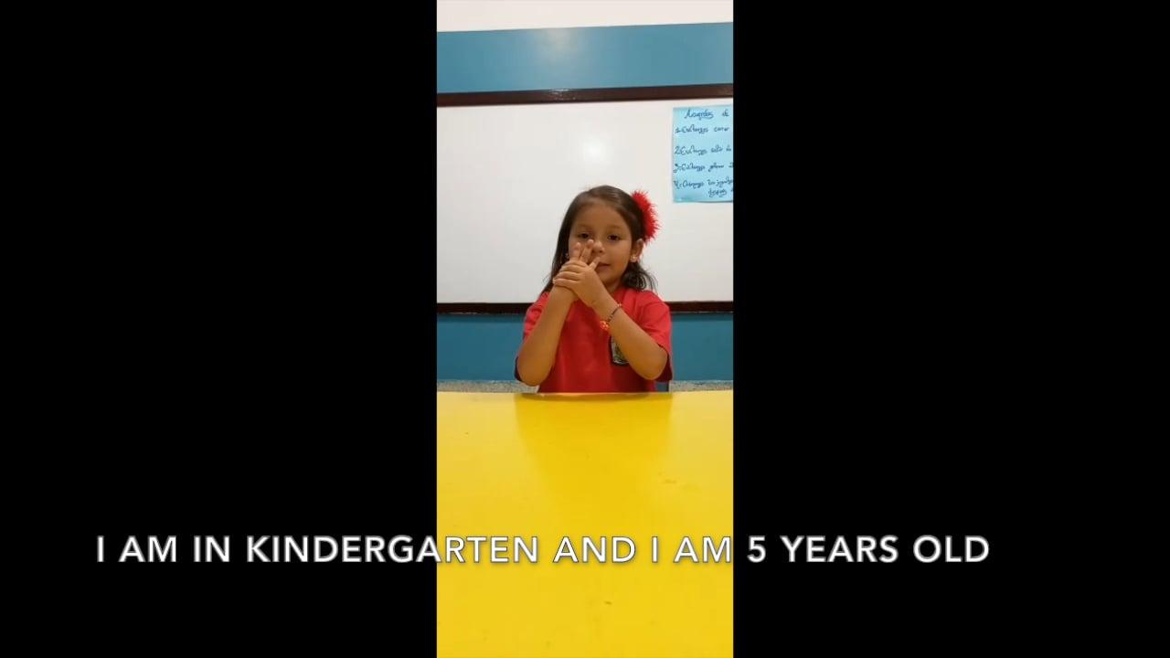 Joyful Aurora at Her ChildHope School in Venezuela
