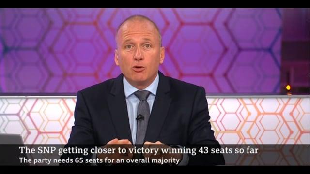 Interview, post-result, BBC