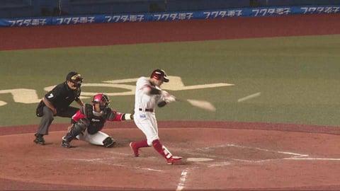 【4回表】イーグルス・岡島 右中間を破る先制打!! 2021/5/21 M-E