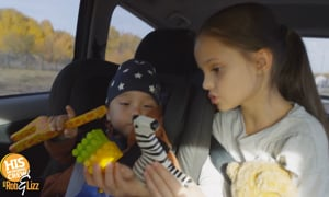 Entertaining the kids on long road trips can be a beast!