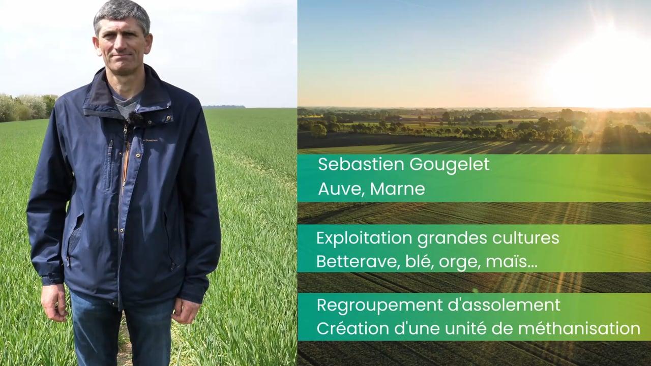 Sébastien Gougelet, polyculteur :