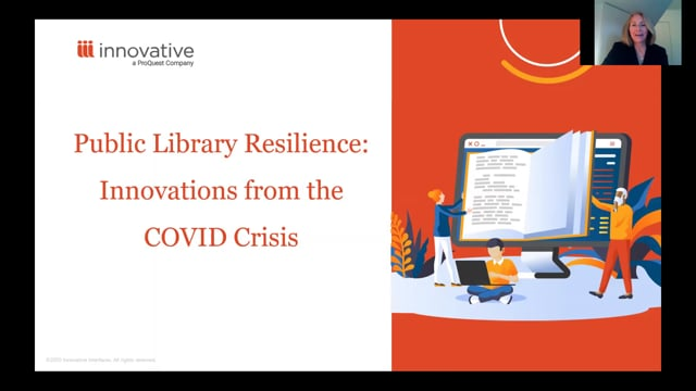 Webinar: Public Library Resilience: Innovations from the COVID Crisis