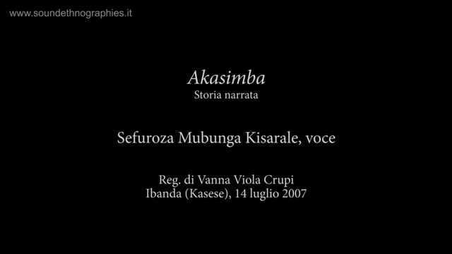 9 – Akasimba