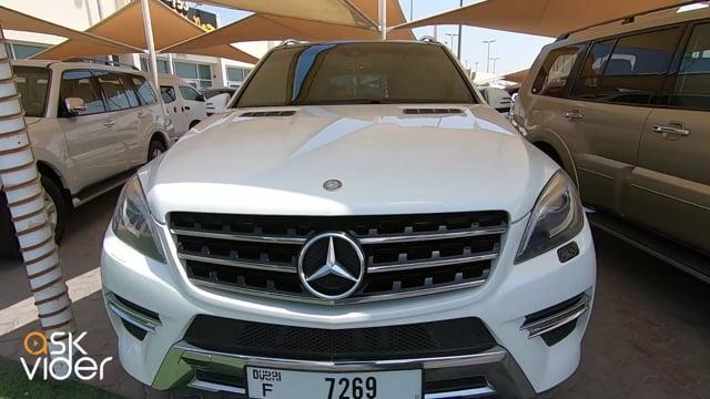 MERCEDES BENZ ML350 - WHITE - 2013