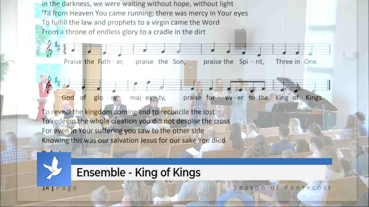 King of Kings (Early Service)