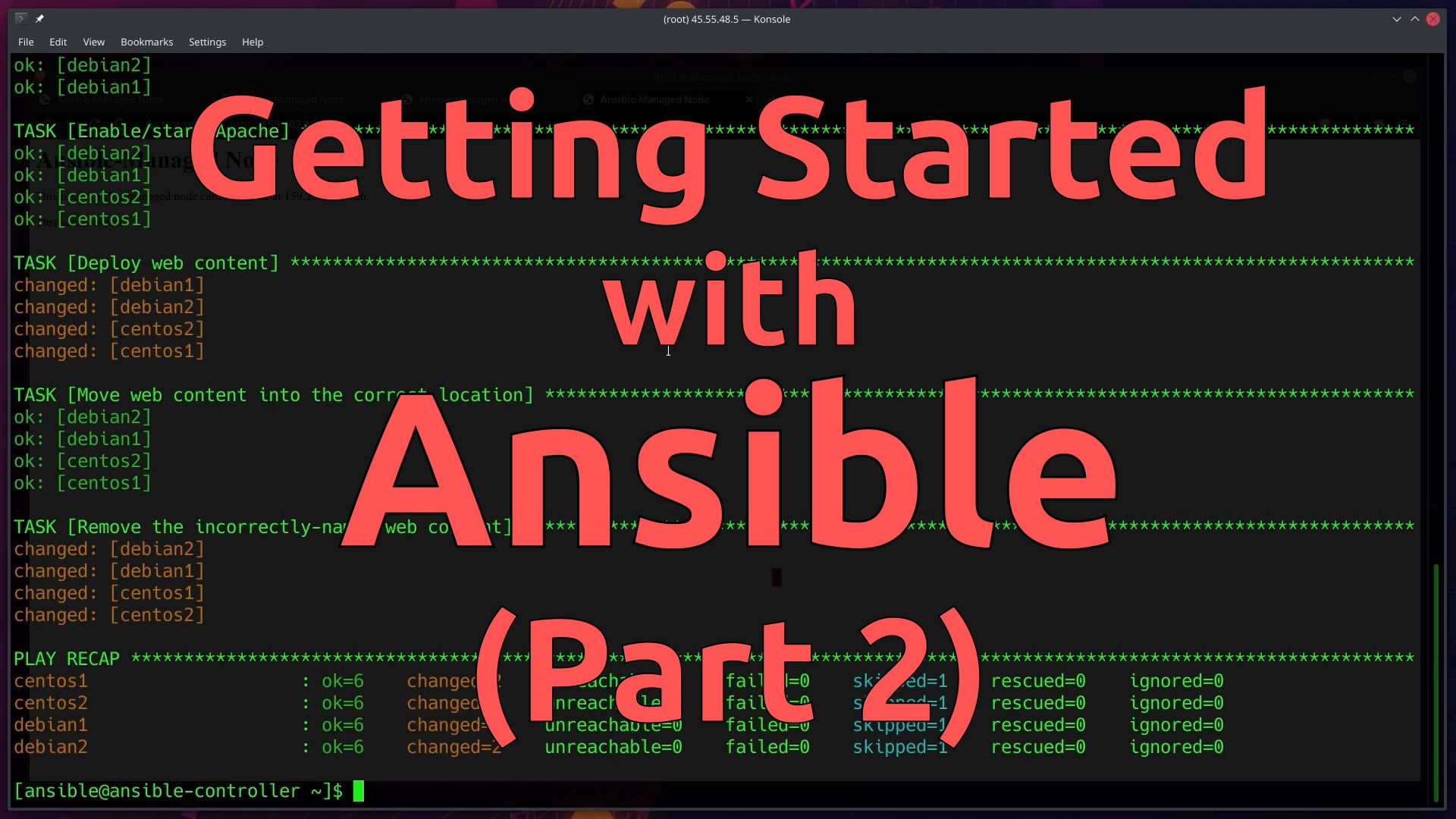 Getting Started with Ansible (Part 2)