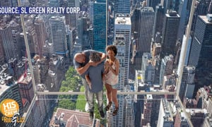 You could be suspended over 1,000 feet over Midtown Manhattan!