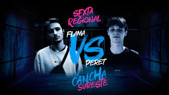 La Cancha Sureste | Cuartos | Peret vs Flama