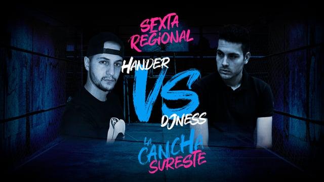 La Cancha Sureste | Cuartos | Dj Ness vs Hander
