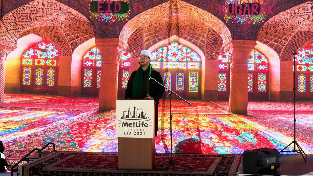 Imam Suhaib Webb Speech at MetLife Stadium - Eid-ul Fitr Prayers 2021