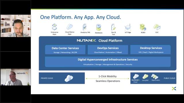 """Förhindra cyberattacker och dataförlust genom att tillämpa en """"zero trust""""-filosofi med Nutanix Security Central thumbnail"""