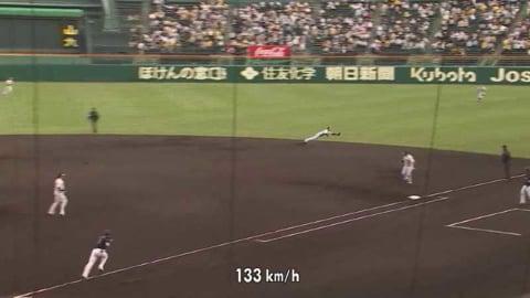 【2回表】マリーンズ・角中 痛烈な打球もタイガース・小幡の好プレーに阻まれる!! 2021/5/25 T-M