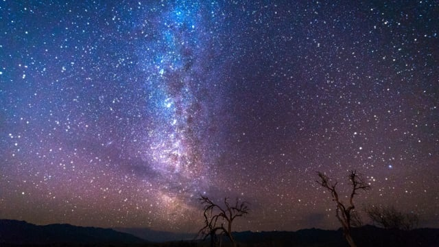 Summer Milky Way - Nighttime Relax Video