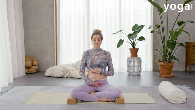 Zwangerschapsyoga: een goede houding