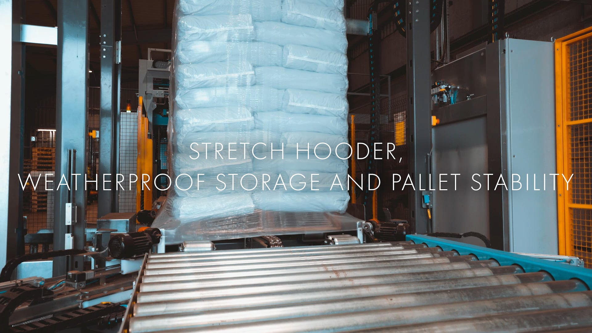 Robotics & Automation Specialists install a fully automated bagging and palletising solution for bark.