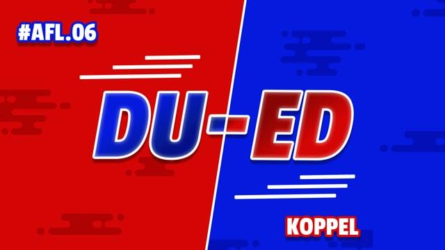 DU-ED: AFL 6 - Koppel