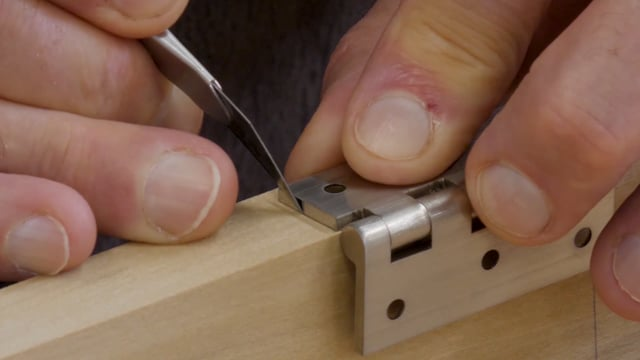 51-How to Install Butt Hinges
