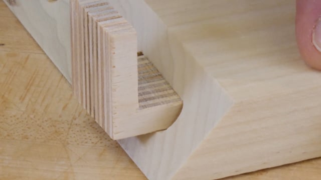 49-How to Join Carcase Miters with L-shaped Tenons