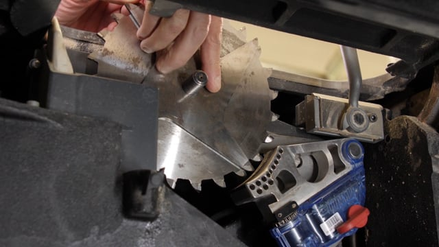 47-How to Install a Dado Stack on a Table Saw