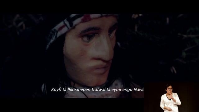 Nahuel una Leyenda Mapuche con lengua de señas chilena