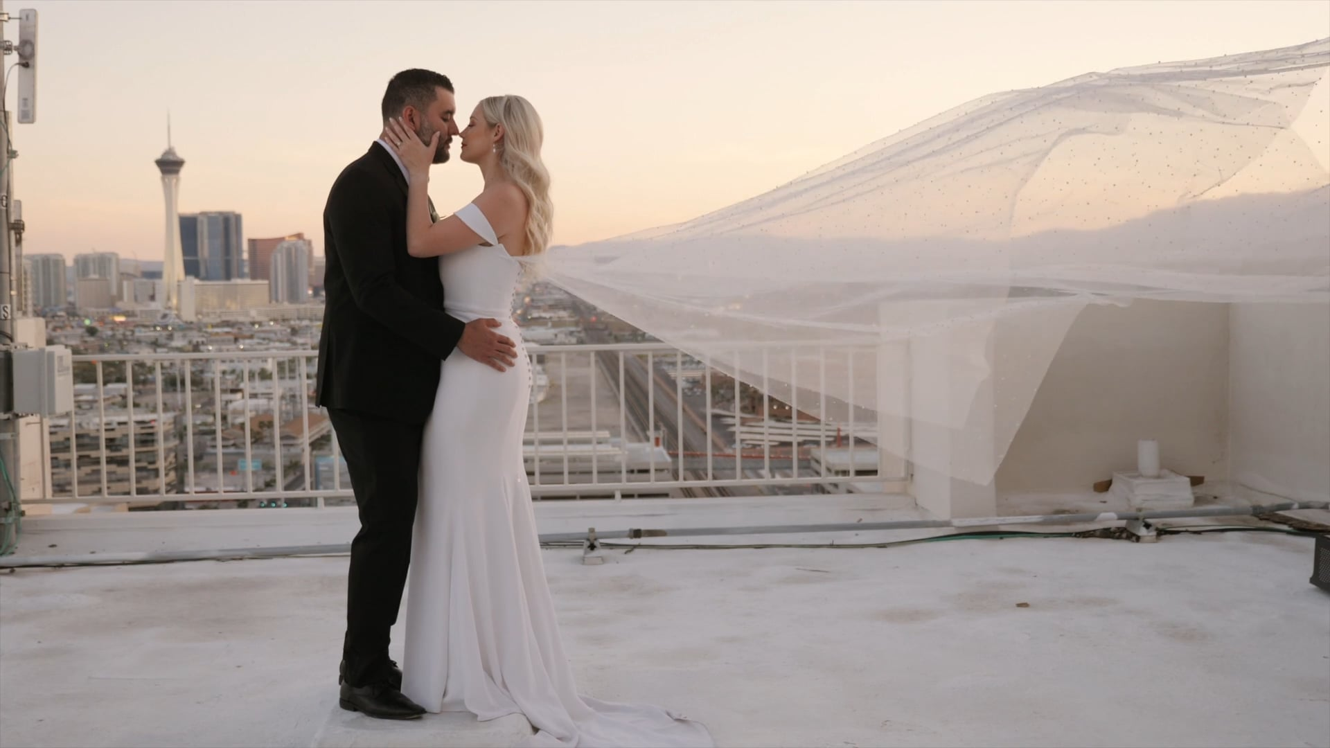 Nicole and Billy || The Plaza Hotel, Las Vegas, NV