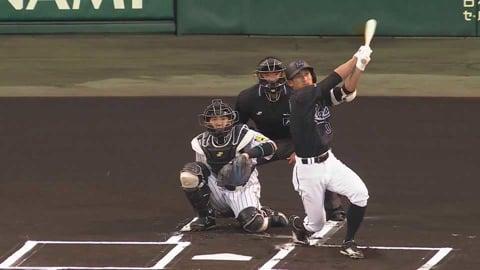 【1回表】マリーンズ・荻野貴が初球先頭打者ホームラン!! 2021/5/27 T-M