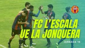 Resum FC l'Escala 6-1 UE La Jonquera